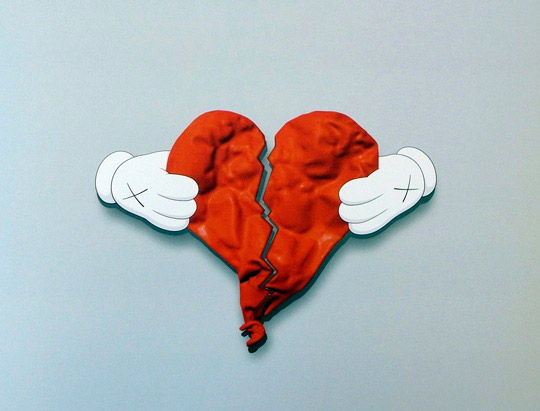 Kaws x 808 Heartbreak