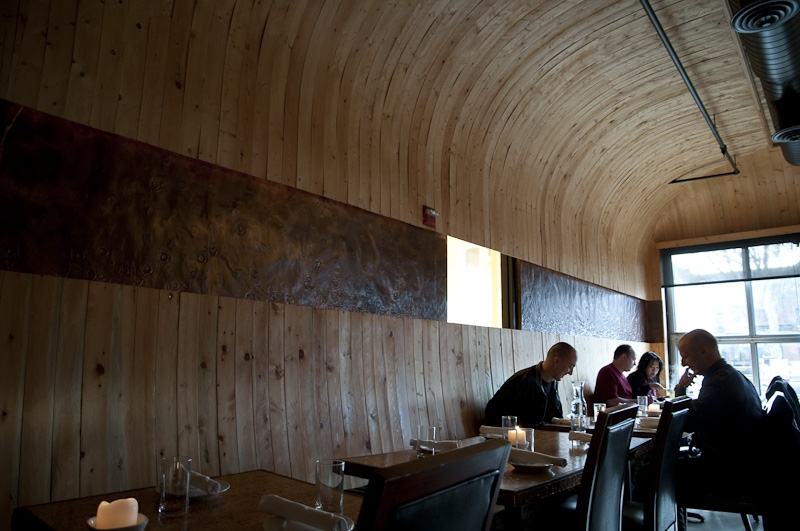 Wine Barrel Interior - ©2010 Ethan Stowell Restaurants